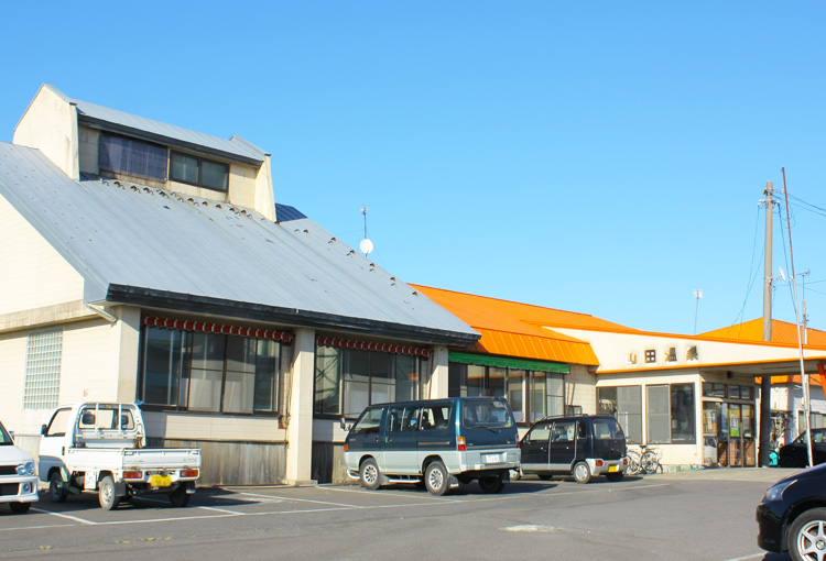 An indoor public Onsen facility located near Tsuruta high school.