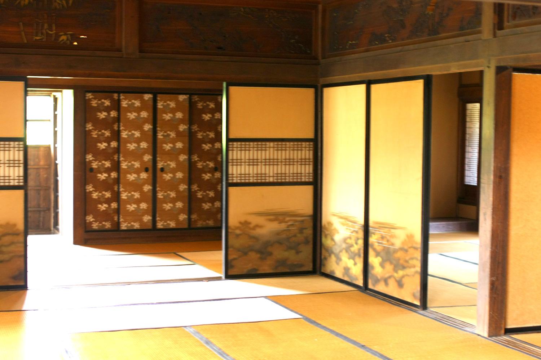 Inside of Tsuru no Sato (Crane village) Furusato Kan (History Museum)