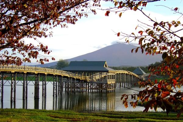 Tsugaru Fujimi Park in autumn