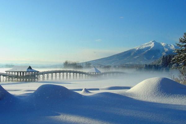 Tsugaru Fujimi Park in winter