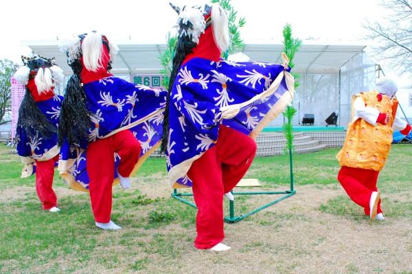 Fujimi Shishimai (Lion dance)