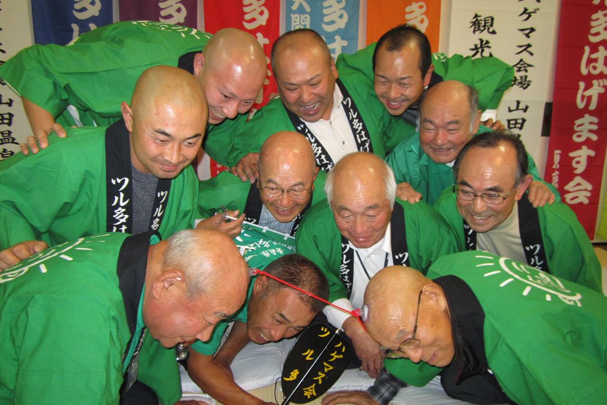"""Hagemasu Kai's main event """"Kyuban Tug of War"""